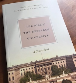 "Introduction to ""Rise of the Research University"""